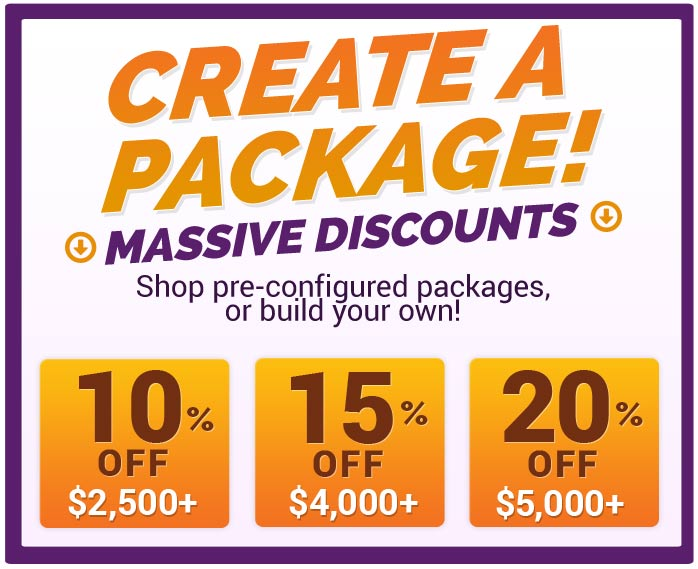 Custom Package Prices